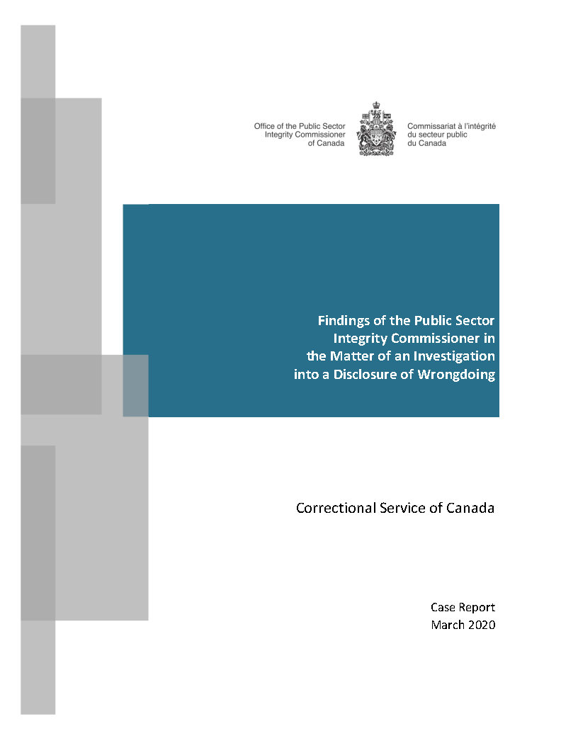 CSC Case Report Cover